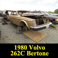 Junkyard 1980 Volvo 262C Bertone Coupe