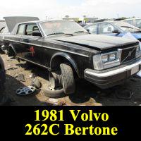 Junkyard 1981 Volvo 262C Bertone Coupe