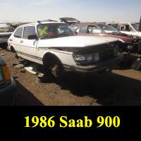 Junkyard 1986 Saab 900
