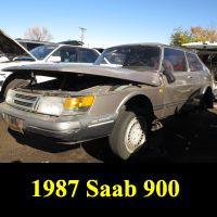 Junkyard 1987 Saab 900S