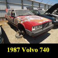 Junkyard 1987 Volvo 740 Turbo