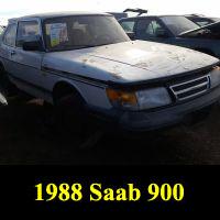 Junkyard 1988 Saab 900