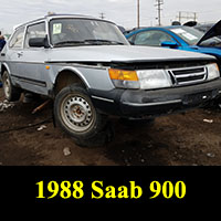 Junkyard 1988 Saab 900S