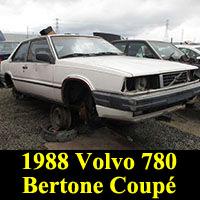 1988 Volvo 780 Bertone Coupe
