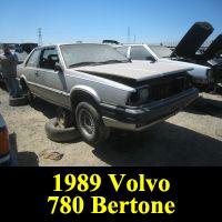 Junkyard 1989 Volvo 780 Bertone Coupe
