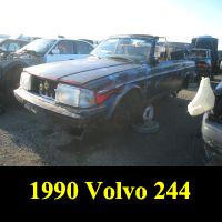 Junkyard 1990 Sawzall Volvo 244