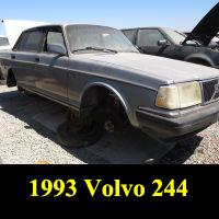 Junkyard 1993 Volvo 240 Sedan