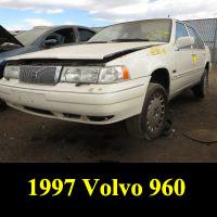 Junkyard 1997 Volvo 960 Sedan