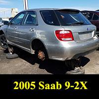 Junkyard 2005 Saab 9-2X