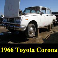 Junkyard 1966 Toyota Corona