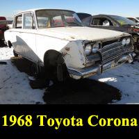 Junkyard 1968 Toyota Corona