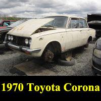 Junkyard 1970 Toyota Corona