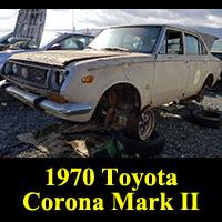 Junkyard 1970 Toyota Corona Mark II