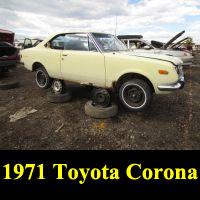 Junkyard 1971 Toyota Corona