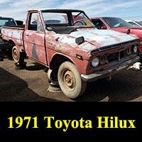 Junkyard 1971 Toyota Hilux Pickup