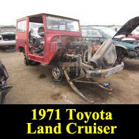 Junkyard 1971 Toyota Land Cruiser