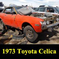 Junkyard 1973 Toyota Celica