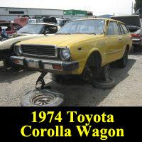 Junkyard 1974 Toyota Corolla Wagon