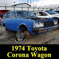 Junkyard 1974 Toyota Corona Wagon