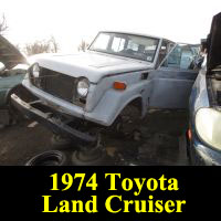 Junkyard 1974 Toyota Land Cruiser