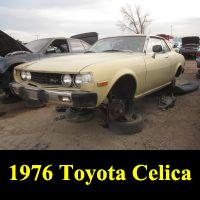 Junkyard 1976 Toyota Celica