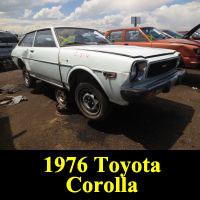 Junkyard 1976 Toyota Corolla