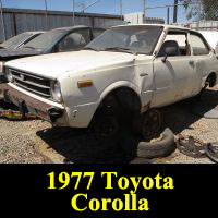 Junkyard 1977 Toyota Corolla
