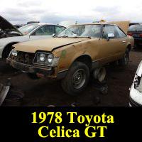 Junkyard 1978 Toyota Celica GT