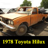 Junkyard 1978 Toyota Hilux Longbed