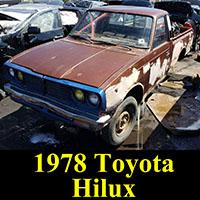 Junkyard 1978 Toyota Hilux