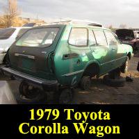 Junkyard 1979 Toyota Corolla Wagon