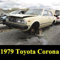 Junkyard 1979 Toyota Corona