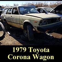 Junkyard 1979 Toyota Corona wagon