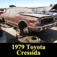Junkyard 1979 Toyota Cressida
