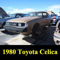 Junkyard 1980 Toyota Celica