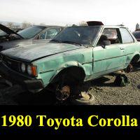 Junkyard 1980 Toyota Corolla