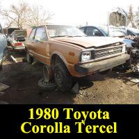 Junkyard 1980 Toyota Tercel