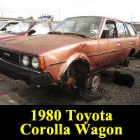 Junkyard 1980 Toyota Corolla Wagon