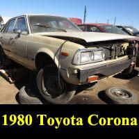 Junkyard 1980 Toyota Corona
