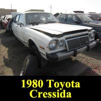 Junkyard 1980 Toyota Cressida