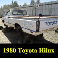 Junkyard 1980 Toyota Truck
