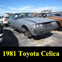 Junkyard 1981 Toyota Celica