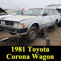 1981 Toyota Corona station wagon