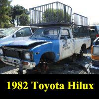 Junkyard 1981 Toyota Truck