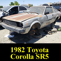 Junkyard 1982 Toyota Corolla SR5