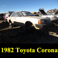 Junkyard 1982 Toyota Corona