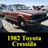 Junkyard 1982 Toyota Cressida