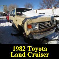 Junkyard 1982 Toyota Land Cruiser