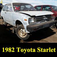 Junkyard 1982 Toyota Starlet