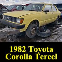 Junkyard 1982 Toyota Tercel